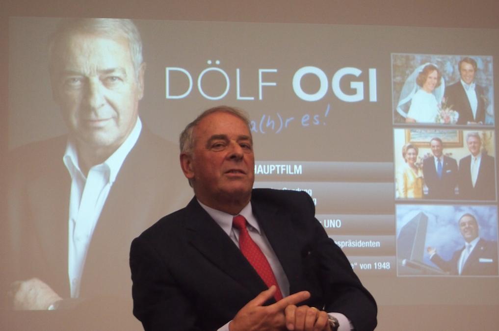 Dölf Ogi zu Gast beim Weltbild Verlag