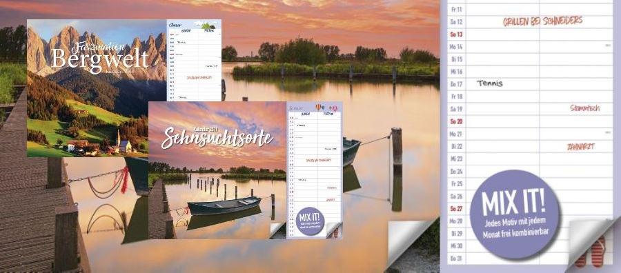 Duo Kalender der Kalender Trend 2019 bei Weltbild