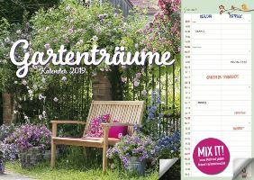 Duo Kalender Gartenträume bei Weltbild
