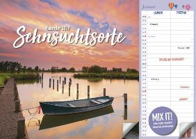 Duo Kalender Sehnsuchtsorte bei Weltbild